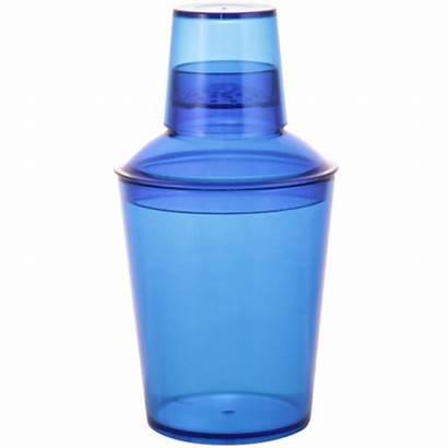 Plastic Shaker Cocktail Oz Piece Custom