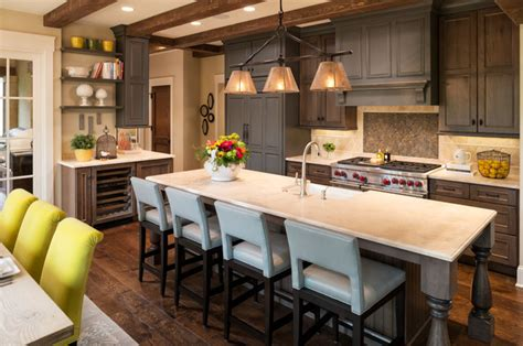 brown and green kitchen new country traditional kitchen minneapolis 4933