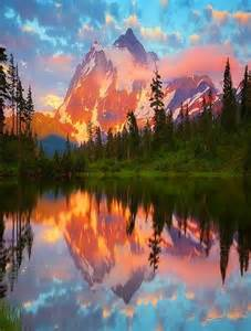 Mount Shuksan Washington State