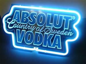 Absolut Vodka 3D Beer Bar Neon Light Sign NeonLightSign