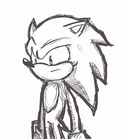 Sonic Sketching Practice Deviantart