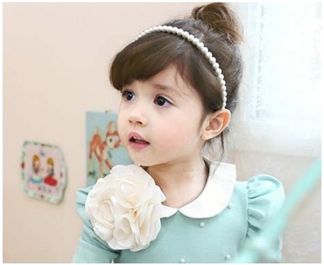 Wholesale Korean Baby Pearl Hairpin Children's Hair Bands
