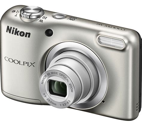 nikon coolpix compact nikon coolpix a10 compact silver deals pc world
