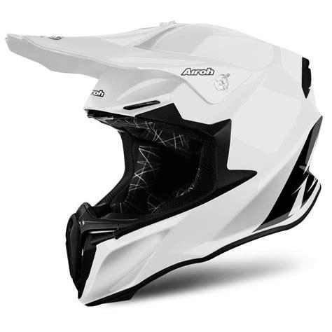 white motocross helmets airoh twist gloss white motocross mx helmet matt