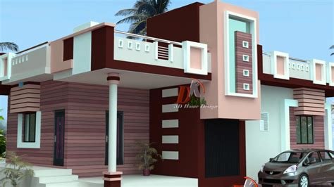 single floor parapet design modern house