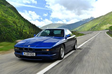 Iconic E31 Bmw 850csi Goes For A Drive On The Famous