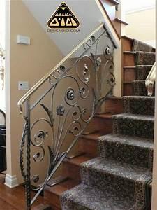 Escalier Fer Et Bois : rampe escalier fer forge ~ Dailycaller-alerts.com Idées de Décoration