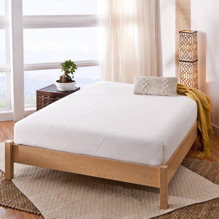 spa sensations  memory foam mattress walmartcom