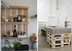 Meuble De Cuisine En Palette : des meubles en palettes joli place ~ Dode.kayakingforconservation.com Idées de Décoration