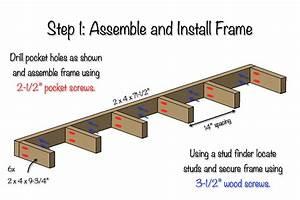 DIY Floating Shelf Free Plans Rogue Engineer