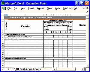 functional requirement template instant download With functional requirements template software development
