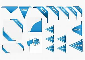 Corner Ribbons Vector Pack - Download Free Vector Art ...