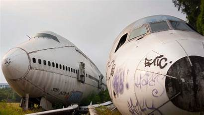 Airplane Largest Graveyards Storage Area Boneyard Aircrafts