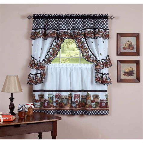 home decor curtains selection of kitchen curtains for modern home decoration