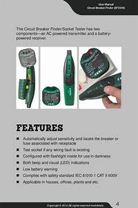 How To Use Best Circuit Breaker Finder Sf3349