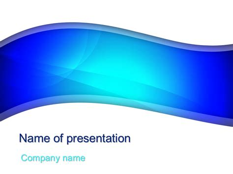 blue river powerpoint template