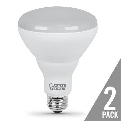 650 lumen 3000k dimmable led br30 feit electric