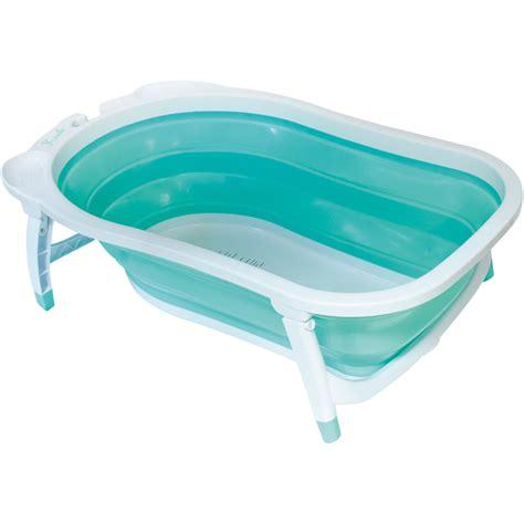 baignoire bébé avec siège intégré baignoire bébé pliable bleu de babysun