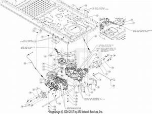 Troy Bilt 17arcacs011 Mustang Xp 42  2016  Parts Diagram