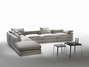 Low back sectional sofa com trends with flexform pictures for Sectional sofa low back