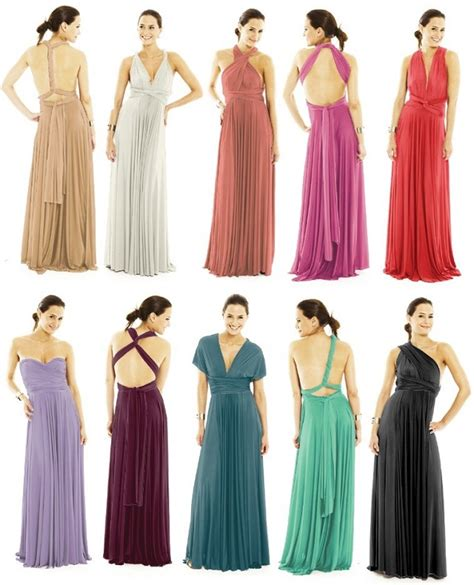 convertible bridesmaid dress maxi convertible multi way dress alldaychic