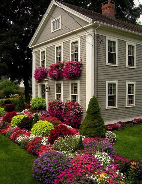 yard flowers landscaping curb appeal 20 modest yet gorgeous front yards