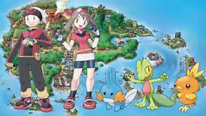 pokemon ruby version and pokemon sapphire version