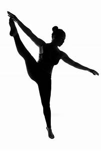 Gallery For > High Kick Silhouette Clipart
