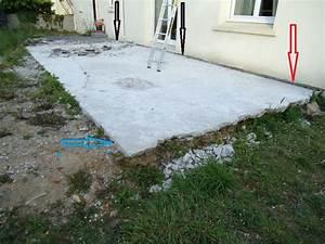epaisseur dalle de beton pour terrasse With epaisseur dalle beton terrasse