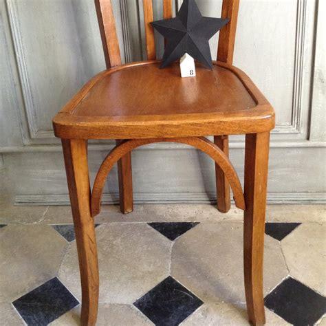 chaise bistrot baumann chaise bistrot ancienne de style baumann en bois clair