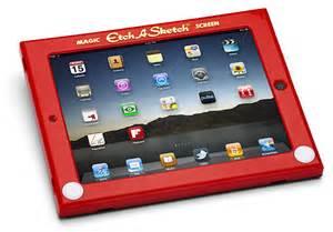 Etch-A-Sketch iPad Cover