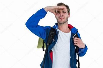 Backpacker Procurando Algo Imagem Wavebreakmedia Depositphotos