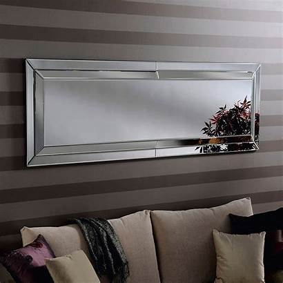 Mirror Wall Rectangular Venetian Mirrors French