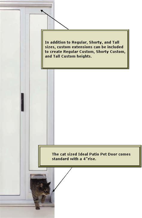 ideal lockable cat flap patio pet door