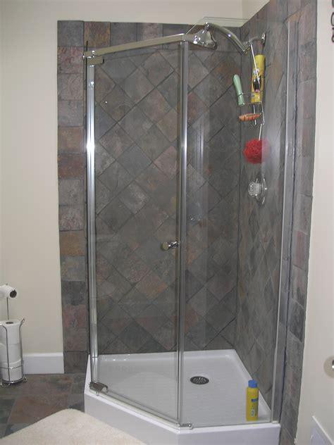 corner shower  pinterest corner showers shower