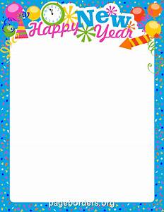 New Year's Eve Border Clipart - Clipart Suggest