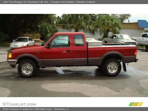 ford ranger 4x4 extended cab 1997 ford ranger xlt extended cab 4x4 in toreador metallic photo no 34606512 gtcarlot