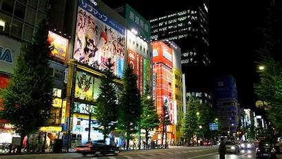 Tokyo Japan Street 1080p Wallpapers Evening Night