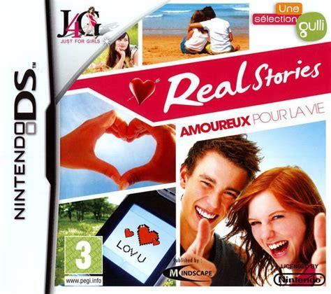 Jeux De Simulation De Vie Pour Fille by Real Stories Amoureux Pour La Vie Sur Nintendo Ds