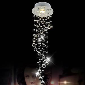 Living Room Light Fixtures Modern Crystal Chandelier Led Ceiling Lamp Kitchen