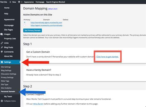 vanity domains creating a vanity domain moxi works help center