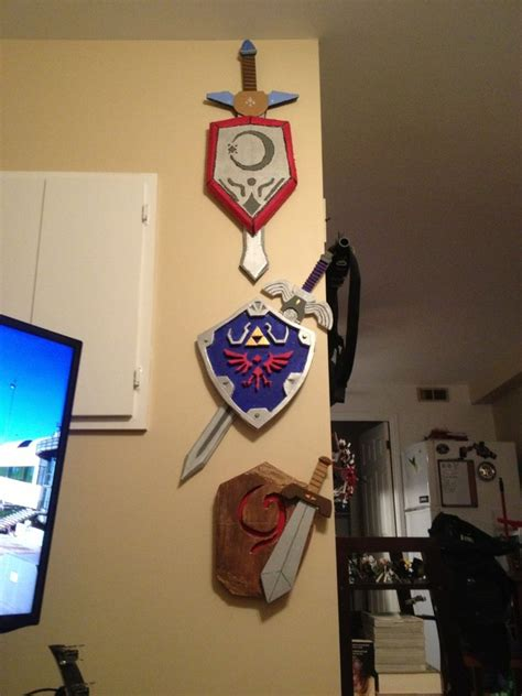 swords  shields  ocarina  time video game