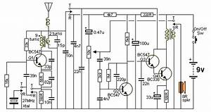 Do It By Self With Wiring Diagram  Walkie Talkie Circuit