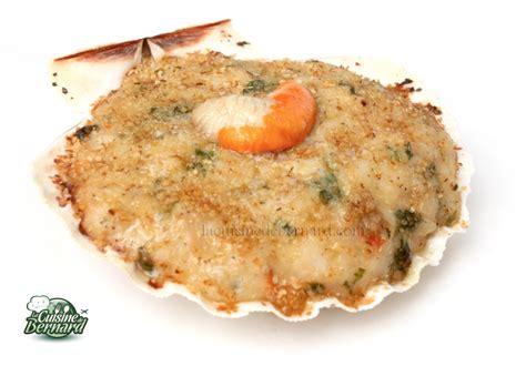 la cuisine de bernard coquilles jacques à la brestoise