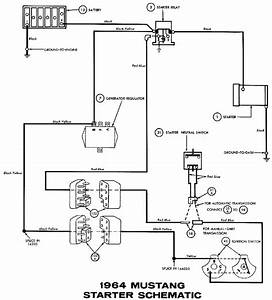 1968 Mustang Starter Relay Diagram Wiring Schematic