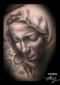 Maria from Pieta tattoo by Lajos.T | Tattoos from me ...