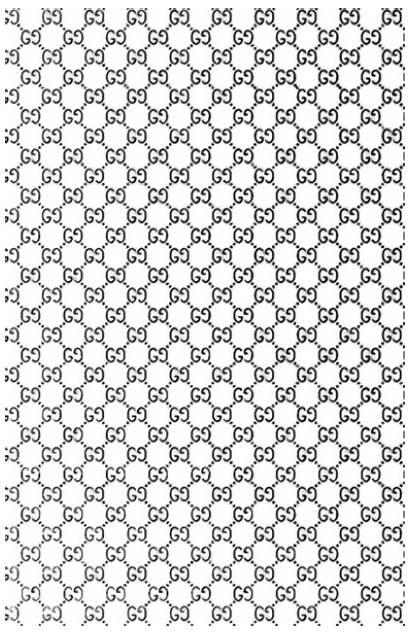 Gucci Pattern Transparent Printable Convent Christ Order