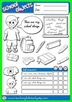 english step  step st graders teach english step