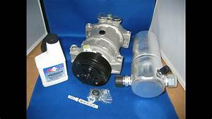 96-05 Chevy Astro 4 3 Auto Ac Compressor-air Conditioning Part Kit
