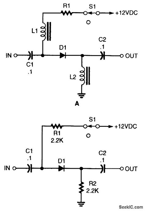 Basic Pin Diode Switch Control Circuit